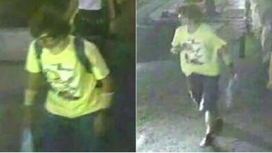 Bangkok bomb: Video shows suspect leaving backpack