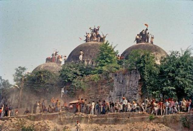 BJP asks EC to bar telecast of Cobrapost sting on Babri demolition