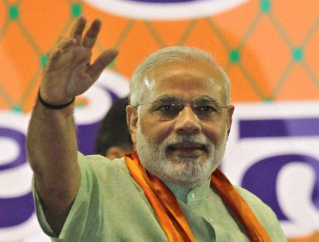 Modi tells youth to oust UPA Government