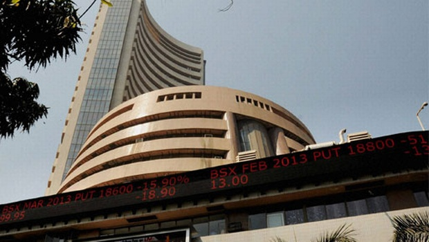 Sensex falls by 86 points ahead of industry data