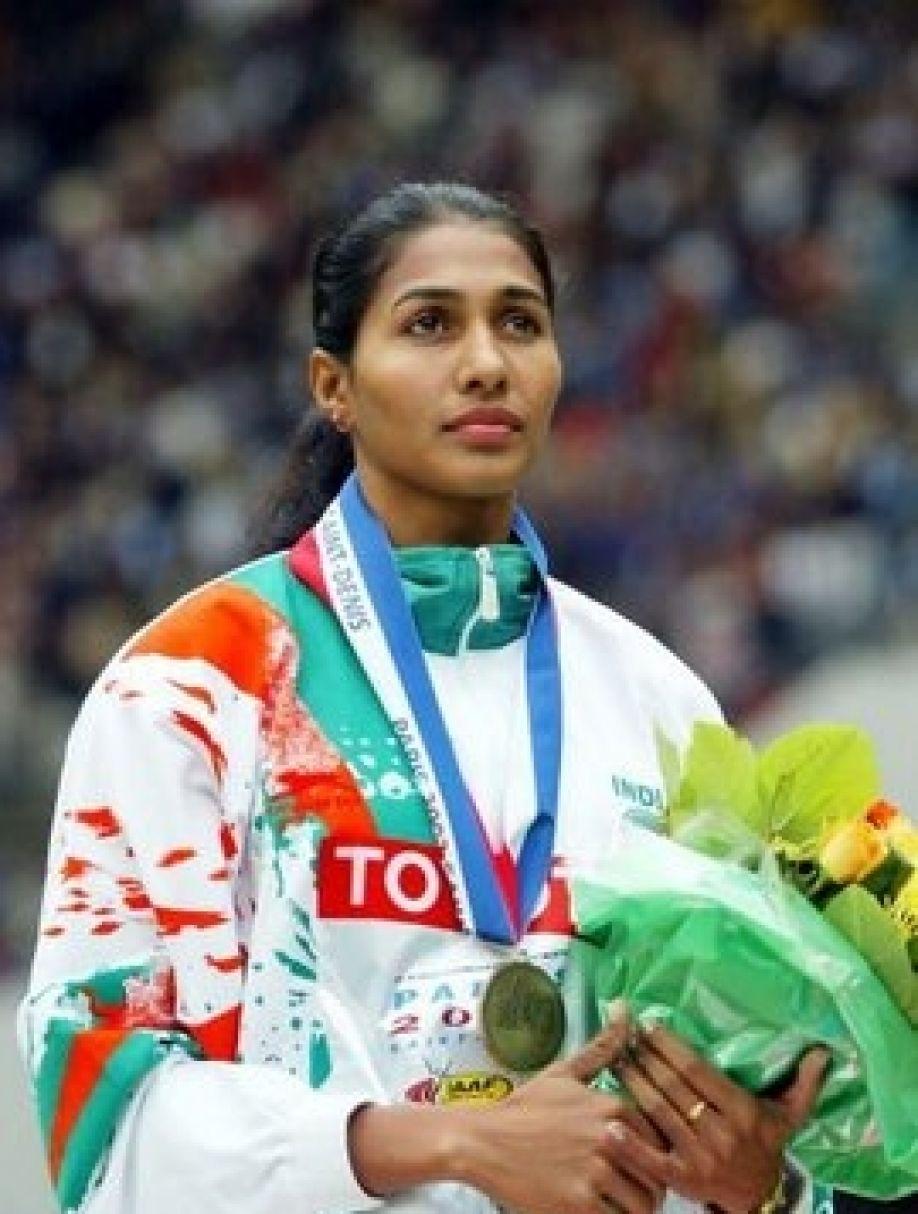 Anju awarded gold for 2005 World Final