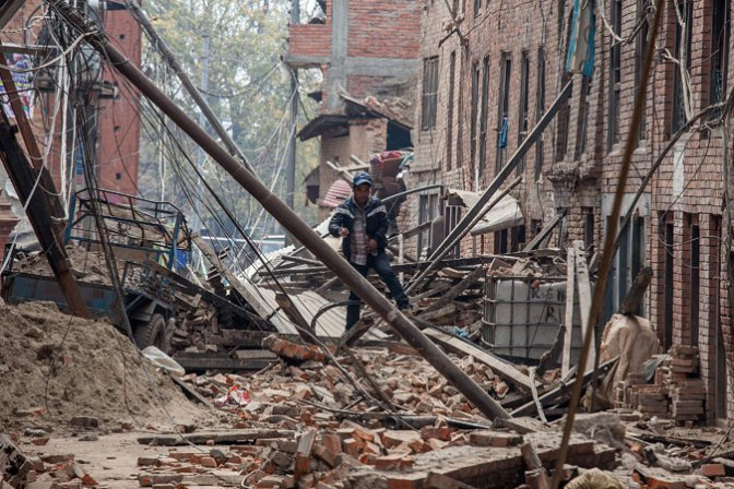 Death Count Rise to 3,218 Of Nepal Quake.