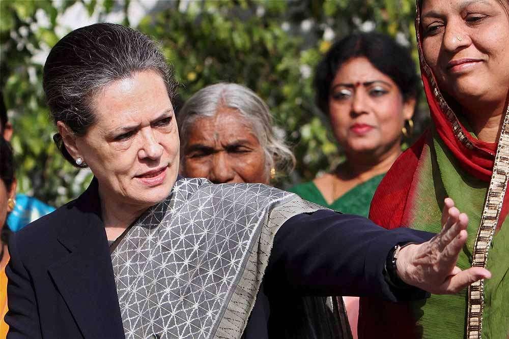 God save India from Gujarat model: Sonia Gandhi