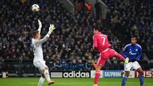 Ronaldo ends goal drought.