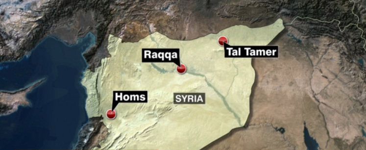 ISIS abducts scores of christians in Syria.