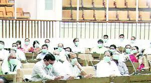 Is Assembly Also In Grip Of Swine Flu ??