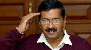 Kejriwal on the CHAIR, the same day he quit last year