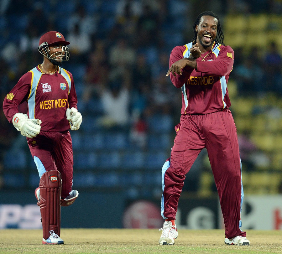 Chris Gayle smashed the highest ever individual World Cup score of 215!!!