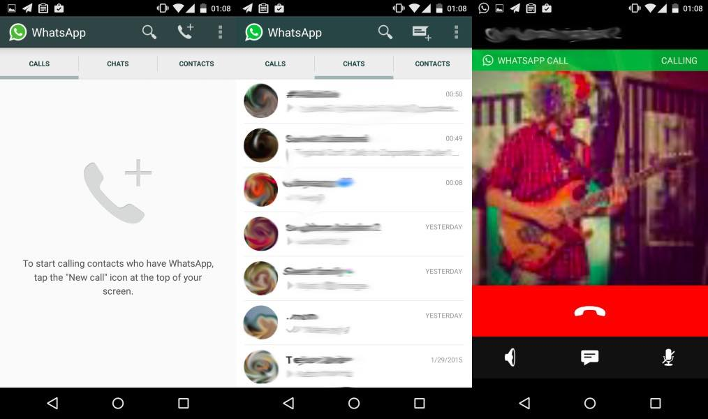 WhatsApp on Stride | Release of voice call feature For Android Users.