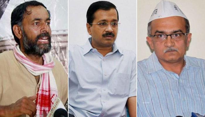 Yogendra Yadav, Prashant Bhushan set to hold press conference soon.