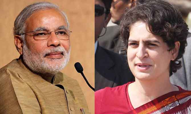 Narendra Modi plays caste politics to hit back at Priyanka