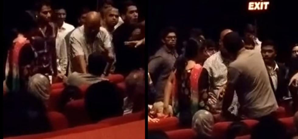 Muslim family thrown out of theatre for not standing up for The National Anthem