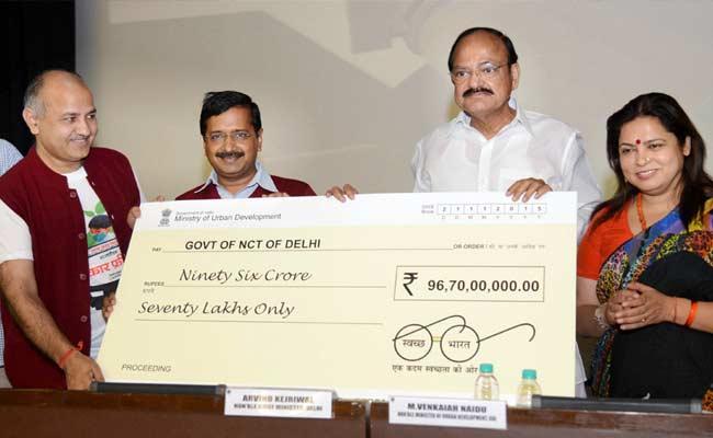 Delhi gets Rs. 96.7 Crore !!