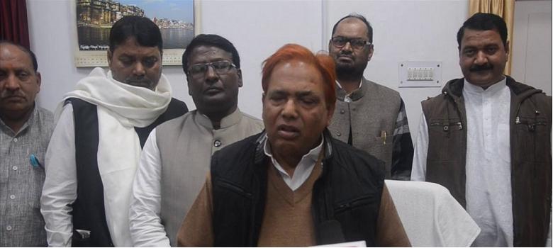सपा सरकार के मंत्री की फिसली जुबान, कांग्रेस को बताया 'शैतान'