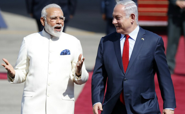 PM Modi receives Phenomenal welcome as he begins path-breaking visit to Israel