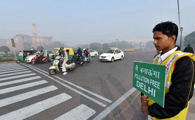 Air Pollution Drops By 50 Per Cent In Delhi