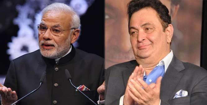 Rishi Kapoor calls PM Narendra Modi's speech boring!